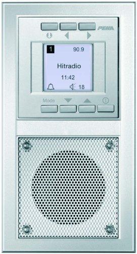 Peha D 20.485.70 Radio Unterputz-Radio im Aura-Design, silber