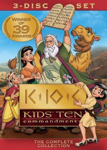 Kids Ten Commandments [DVD] [Region 1] [US Import] [NTSC]
