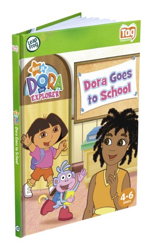 LeapFrog Tag Dora The Explorer Book