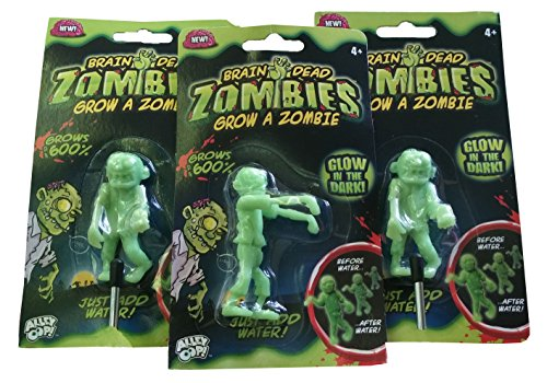 Brain Dead Zombies - Grow a Zombie (Set of 3)