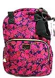 Betsey Johnson Double Handle Pink/Purple Backpack