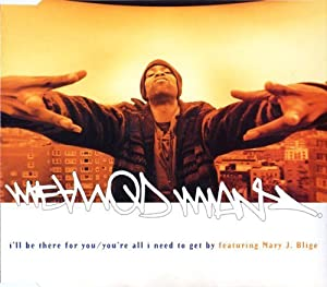 I\'ll Be There For You / You\'re All I Need To Get By - Method Man Featuring Mary J. Blige CDS by Method Man Featuring Mary J. Blige (1995-01-01) 【並行輸入品】