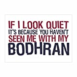Teeburon If I look quiet it's because you haven't seen me with my Bodhran Pack of 4 Decal