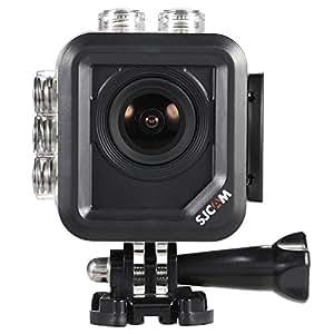 SJCAM M10 Wi-Fi ミニキューブ12MP 1080P アクション スポーツカメラ 1.5インチLCDスクリーン 170度広角レンズ 30m防水 HDビデオカメラ 車 ドライブレコーダー◇M10WIFI (ブラック)