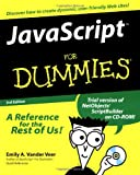 JavaScript For Dummies (For Dummies (Computers)) (0764506331) by Emily A. Vander Veer