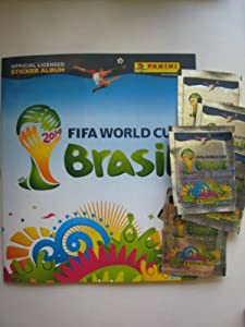 Panini Brazil 2014 - 1 Sticker Album + 50 Packs FIFA World Cup Brasil