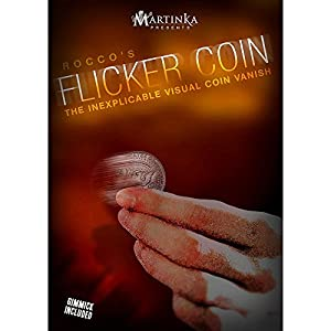MMS Flicker Coin Quarter Rocco Trick Kit