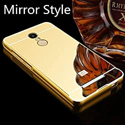 Xiomi Redmi note 3 Mirror look back cover Gold