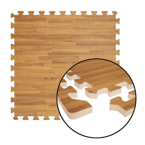 Alessco 8' x 10' Soft Wood Flooring