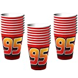 Disney Cars Grand Prix Dream 9 oz. Paper Cups - 24 Pieces