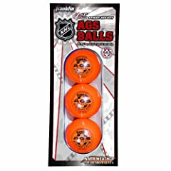 Buy Franklin Sports NHL AGS Pro High Density Street Hockey Ball, Orange, 3-Pack by Franklin