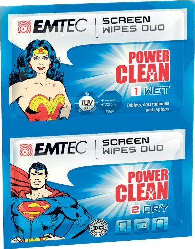 EMTEC Power Clean Wet and Dry Wipes Duo (Dry Clean Supplies compare prices)