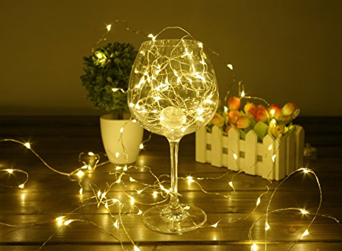 BHCLIGHT-LED-String-Lights-Starry-Copper-Wire-Waterproof-Dcor-Rope-Lights-For-Seasonal-Decorative-Christmas-Holiday-PartiesWedding50-Leds-165-ft-Warm-White