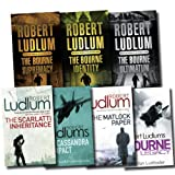 Robert Ludlum Robert Ludlum The Bourne Trilogy 5 Books Pack Set RRP £34.95 (Collection The Bourne identity, supremacy and Ultimation plus The Lazarus Vendetta and The Cassandra Compact ) (The Bourne Trilogy)
