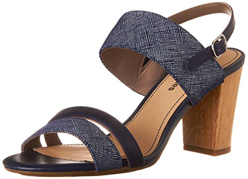 Hush PuppiesMolly Malia - Decolleté aperte sul retro con tacco donna , (Blue (Navy)), 42 2/3