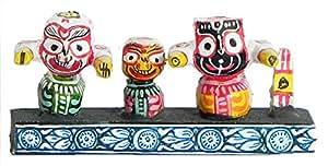 DollsofIndia Jagannath, Balaram and Subhadra Stone Dust