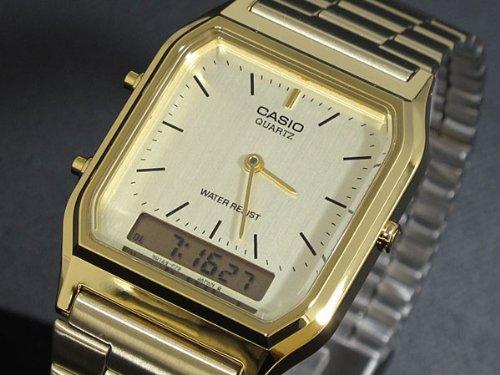 Overseas model CASIO Casio standard an analog-digital watch AQ230GA-9D