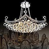 Lustre en cristal lampe du salon de la chambre moderne à la mode créative lustre de r
