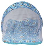 Amardeep Toddler Mattress With Mosquito Net Blue 70*40 cms 0-3Months