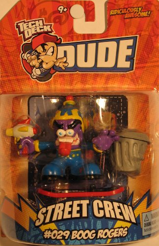 Tech Deck Dude Ridiculously Awesome Street Crew Series - #029 BOOG ROGERS - 1