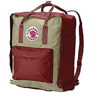 Fjallraven Hiking Daypack, OxRed/Putty, Small