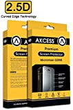 Akcess 2.5 D Curved Tempered Glass Screen Guard For Micromax Canvas Spark Q380