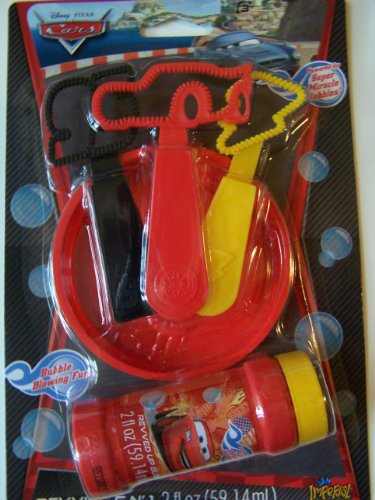 Disney Cars Revving 5 in 1 Bubbles Set haptic information in cars