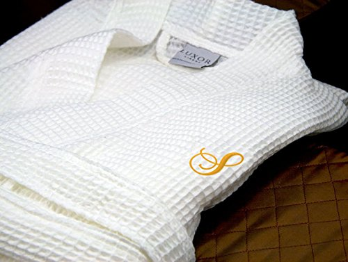 luxor-linens-waffle-weave-monogrammed-spa-robe-made-in-turkey-gold-s