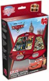 Disney Pixar Cars 2-in-1 Double-Sided Travel Compact Snakes and Ladders/ Ludo Games