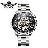 くりぬいた自動機械式 時計 高品質ビジネス スタイル 時計 高級自動巻き 腕時計 男性