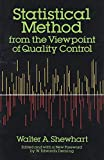 img - for Statistical Method from the Viewpoint of Quality Control (Dover Books on Mathematics) by Walter A. Shewhart (1986-06-01) book / textbook / text book