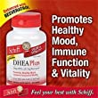 Schiff DHEA Plus Enhanced With Resveratrol, 25 mg DHEA with 1 mg Resveratrol, 350 Tablets