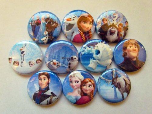 Queen frozen Disney Disney Badge pin badge pin batch of snow and Ana 10 pieces
