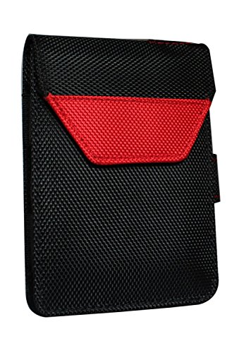 Saco Laptop Hard Disk Plug and Play Pouch Sleeve Bag for Terabyte 2.5-inch SATA Laptop portable external harddisk casing - Red  available at amazon for Rs.160