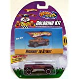 Hot Wheels Color Shifters Mega-Duty Highway To Byway Coloring Kit Cool 1:64 C...