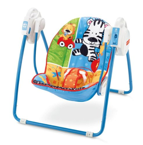 Fisher-Price Adorable Animals Open Top Take Along Swing
