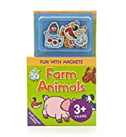 Fun with Magnets Farm Animals Book