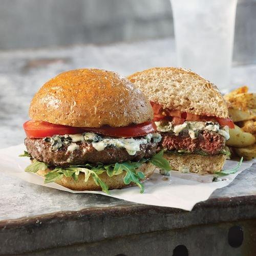Omaha Steaks 8 (5.3 oz.) Ground Bison Burgers внешний блок hyundai h ari19 09h out