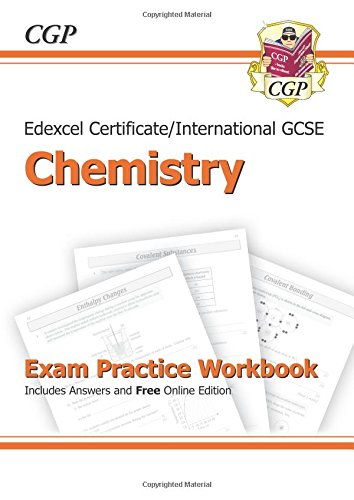 Edexcel Certificate/International GCSE Chemistry Exam Practice Workbook (with Answers & Online Edition) PDF