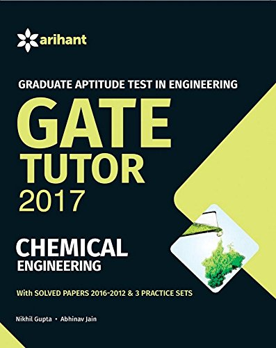 GATE Tutor 2017 Chemical Engineering