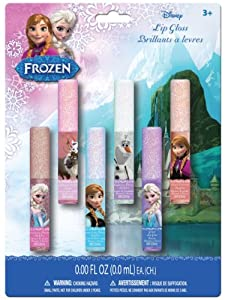 Frozen Lip Gloss Wands, 6 Count (Pack of 6)