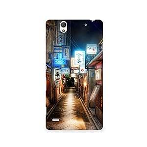 TAZindia Designer Printed Hard Back Mobile Case Cover For Sony Xperia C4