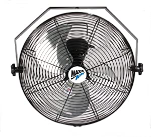 maxxair hvwm18 wall mount with 18 inch fan