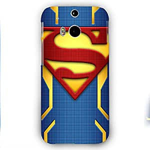 EYP Superheroes Superman Back Cover Case for HTC One M8 Eye