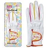 BRIDGESTONE(ブリヂストン)  ゴルフグローブ 手袋 ツアーステージ  レディース GLA350 WH(白)   左手用 18cm