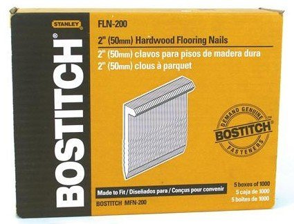 Bostitch Fln-200 5000 Count 2 Inch L Shaped Hardwood Flooring Cleat Nails (Hardwood Flooring Cutter compare prices)