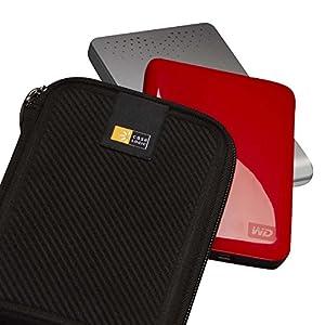 Case Logic EHDC-101 Hard Shell Case for 2.5-Inch Portable Hard Drive - Black