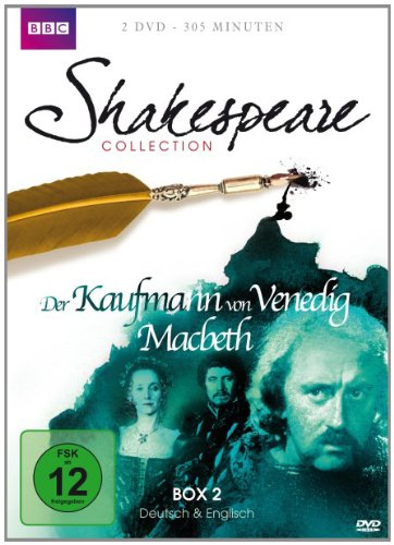 Shakespeare Collection 2: Der Kaufmann von Venedig / Macbeth [2 DVDs]