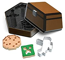Minecraft 5pc Cookie Cutters