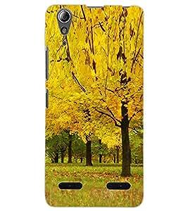 ColourCraft Beautiful Tree Design Back Case Cover for LENOVO A6000 PLUS